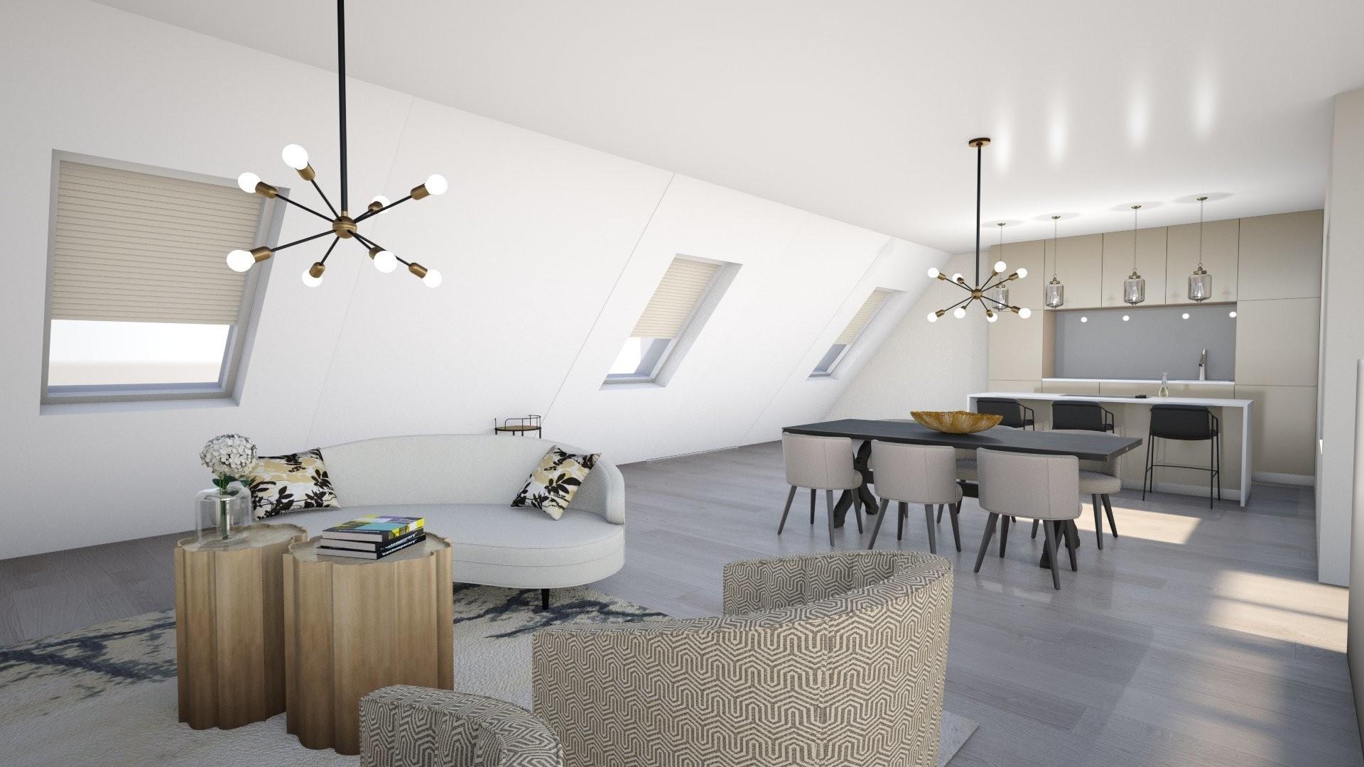 Traumhaftes Dachgeschoß mit vielen Gestaltungsmöglichkeiten