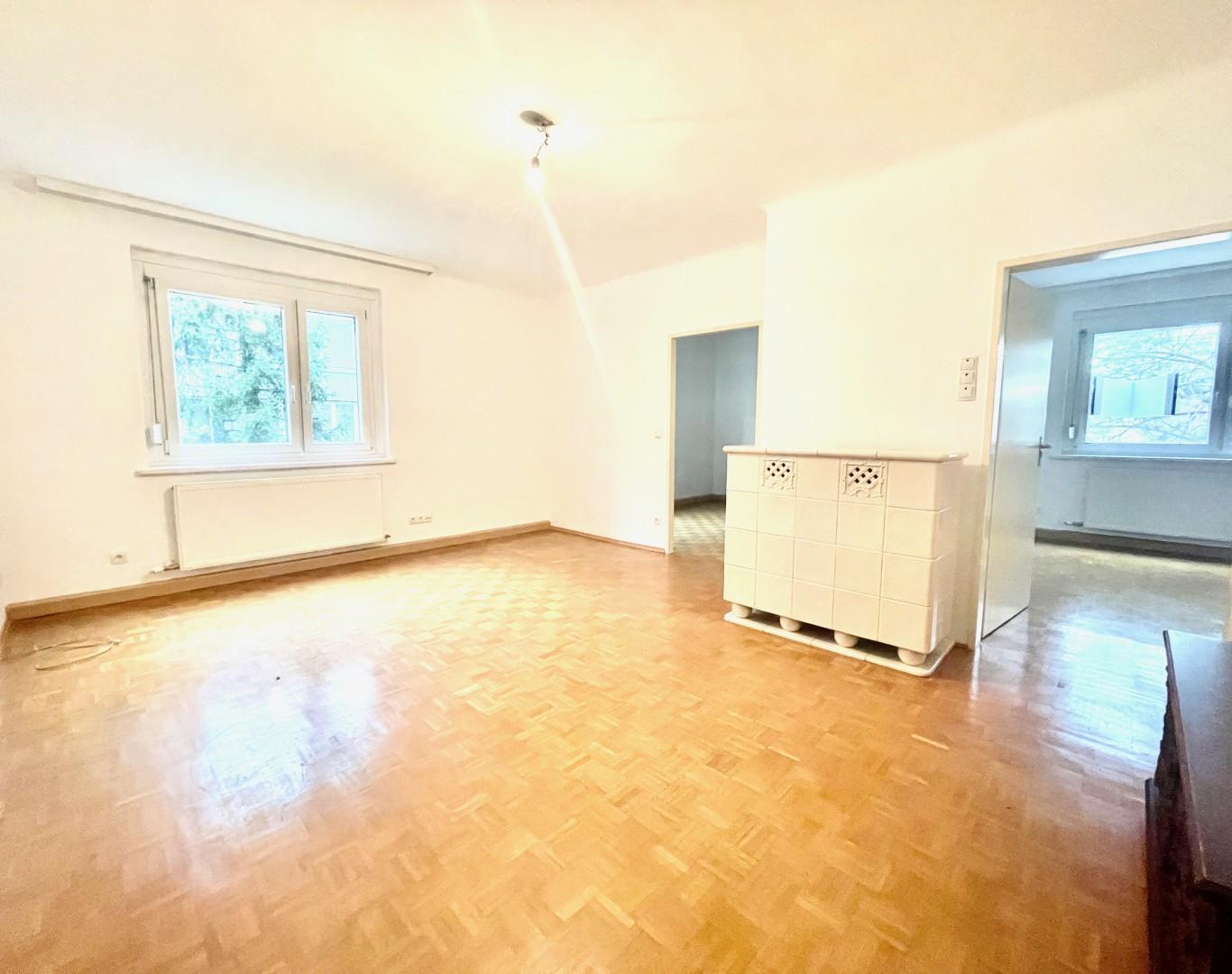 Gut angelegte 3-Zimmer Wohnung in attraktiver Lage am Fusse des Wilhelminenbergs